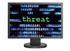 threat concept - stock photo
