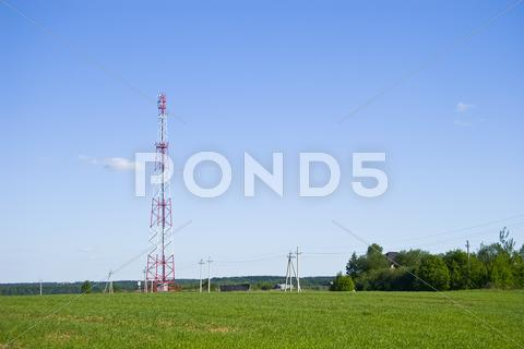 Stock photo of radio-tower