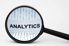 analytics - stock photo