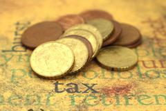 Tax concpet Stock Photos