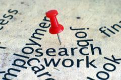 Job search - stock photo
