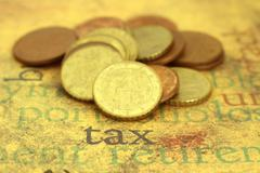 Stock Photo of tax concpet