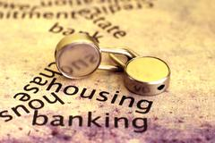 Stock Photo of housing and banking