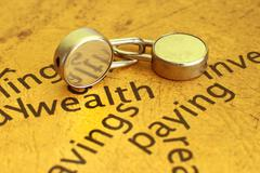 wealth concept - stock photo
