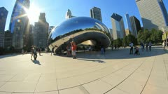 Chicago Bean 1 - stock footage