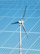 sustainable energy concept - stock photo