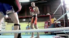 Thai Boxing School Stock Footage