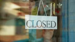 Store is Closed Stock Footage