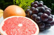 A variety of fruits Stock Photos