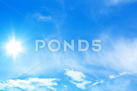 Stock photo of perfect sky