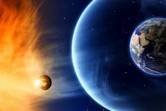 save planet - stock illustration