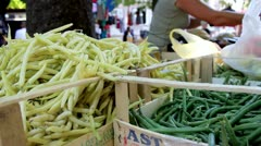 String beans - stock footage