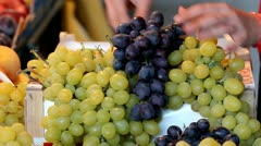 Sweet grapes Stock Footage