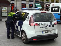 Madrid Policia Stock Photos