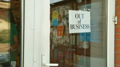 Going Out Of Business Stock Footage
