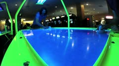 Air Hockey V5 - HD - stock footage