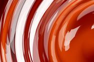 Red waves Stock Illustration