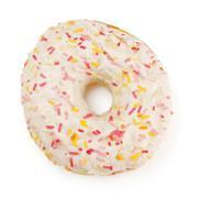 Sugar glazed donut Stock Photos