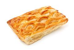 fresh pie - stock photo