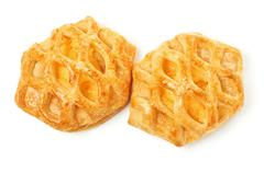 Two sweet pie Stock Photos