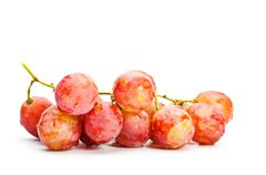 bunch of red grape - stock photo