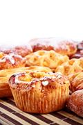 different sweet baking - stock photo