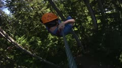 Giant swing - stock footage