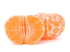orange mandarin or tangerine fruit - stock photo