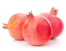 ripe pomegranate fruit - stock photo
