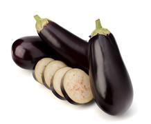 eggplant or aubergine vegetable - stock photo