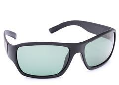 stylish black sunglasses - stock photo