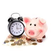 money accumulation concept. - stock photo