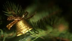Christmas Bell 2 Stock Footage