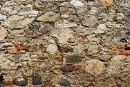 Stock Photo of ancient stone wall