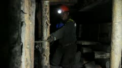 Miners Stock Footage
