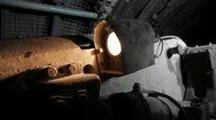road header machine - stock footage