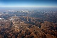Stock Photo of aerial photography, the himalayan hengduan mountains