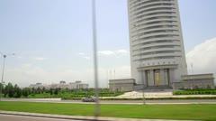 Ashgabat Stock Footage
