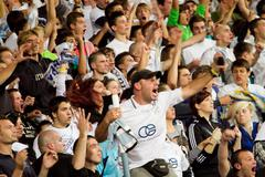 Soccer Fans -  Armada Stock Photos