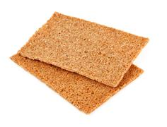 crisp crackers - stock photo