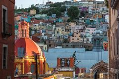 View of Guanajuato, Mexico Landmark - stock photo