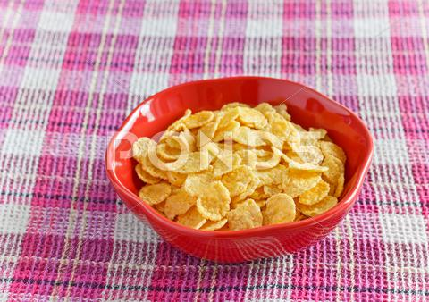 Stock photo of healthy breakfast
