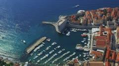 Dubrovnik aerial Stock Footage