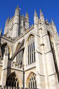Bath Abbey - stock photo