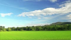 Stock Video Footage of Summer rural landscape
