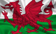 Wales Stock Illustration