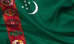 turkmenistan - stock illustration