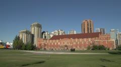 Architecture, Mewatta armoury, Calgary Stock Footage