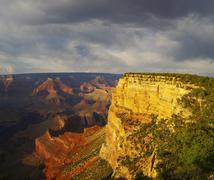 grand canyon vista - stock photo