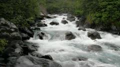 River near Whittier - stock footage